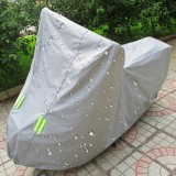 Outdoor Universal Anti-Dust Sunproof Waterproof Electric Bike And Bike Cover with Warning Strips, Fits Bike up to 1.7m (67 Inches) In Length