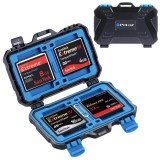 PULUZ 25 in 1 Memory Card Case for 4CF + 8SD + 12TF + 1Card PIN