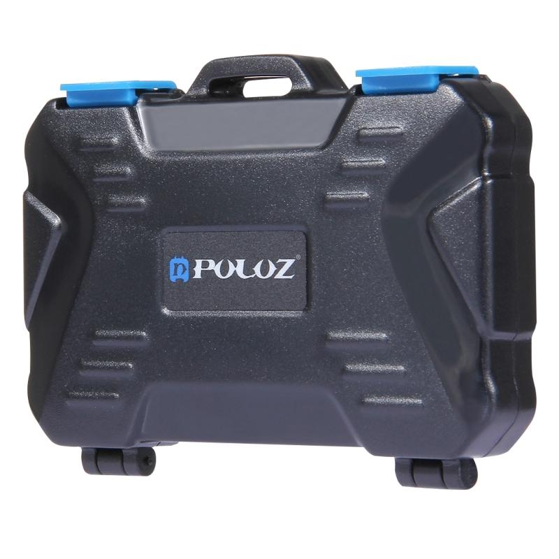 PULUZ 25 in 1 Memory Card Case for 4CF + 8SD + 12TF + 1Card PIN