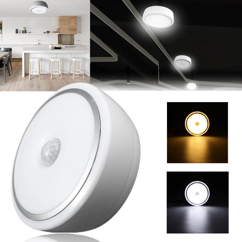Led Ceiling Lights With Sensor: 12W PIR Motion Sensor Infrared LED Ceiling Lamp Down Light