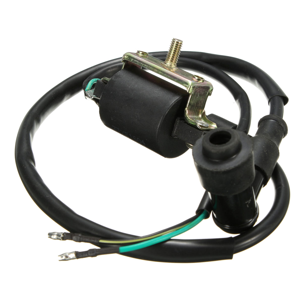 Wiring Loom Kill Switch Coil CDI Spark Plug Kit For 110cc 125cc 140cc Pit Bike