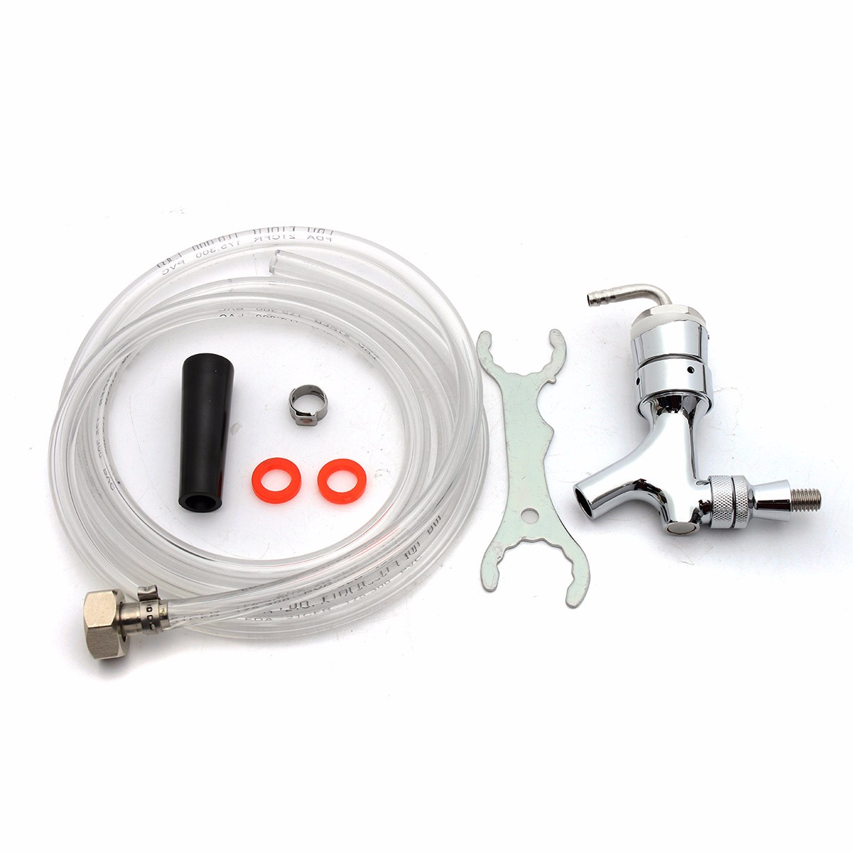 Draft Beer Tower Rebuild Kit with Shank Beer Faucet Hose Wrench ...