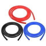 6mm 2 Meter Silicone Vacuum Hose Tube Tubing Line Pipe 6.6 Feet Blue Red Black