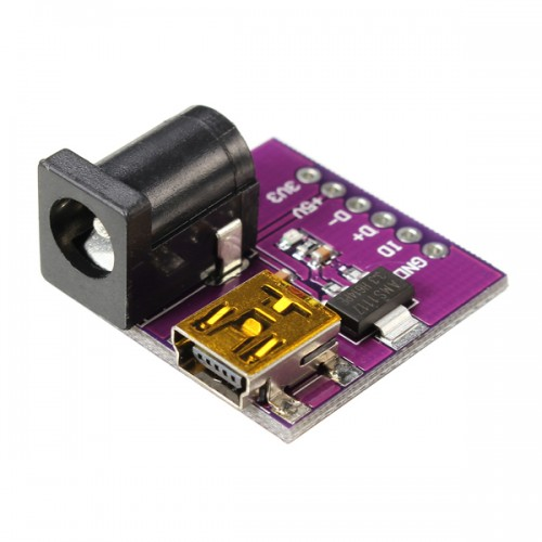Pcs cjmcu v mini usb power connector dc socket