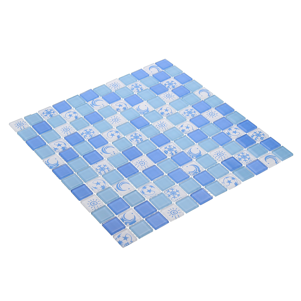 Waterproof Crystal 3d Mosaic Tiles Wall Sticker For