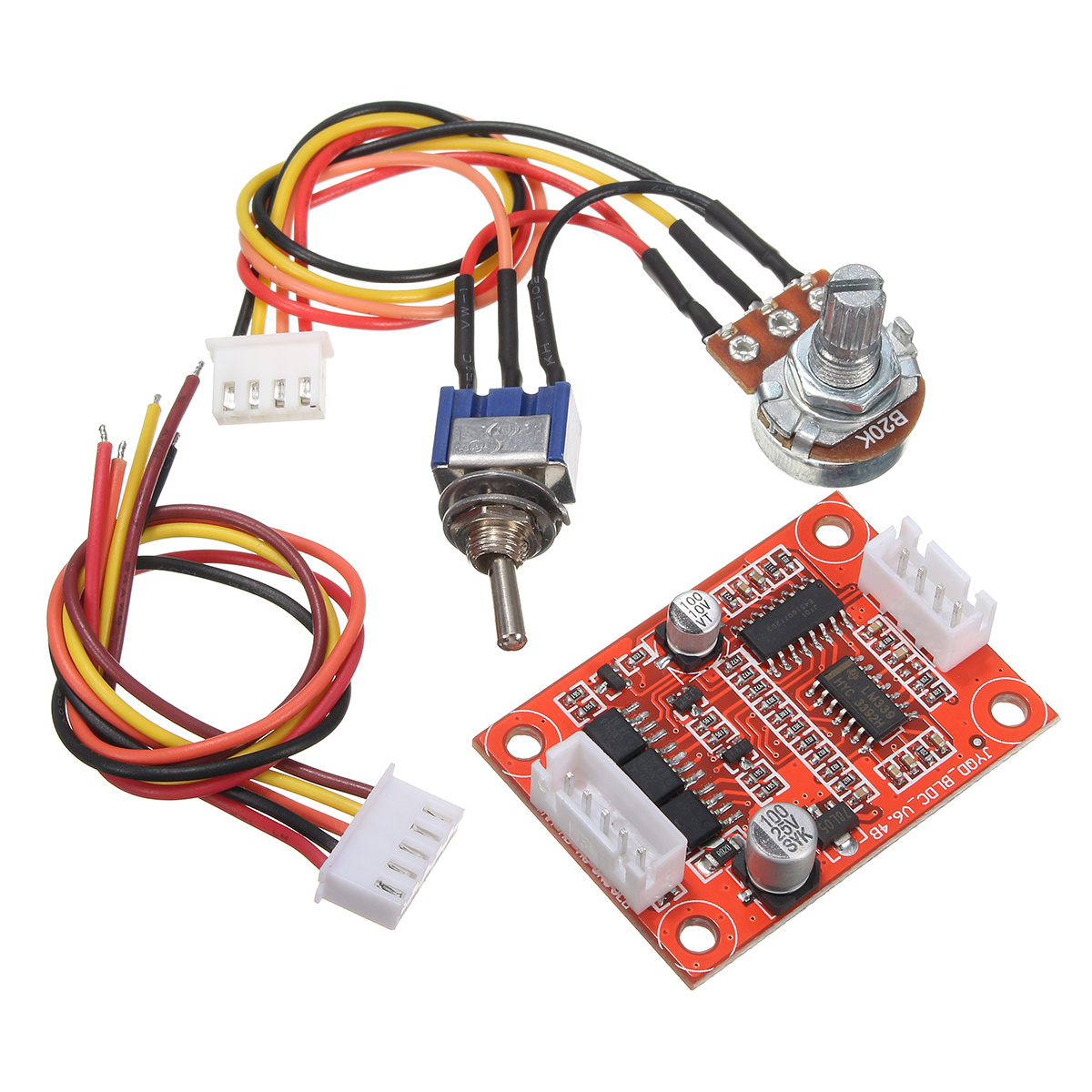 Dc 12v Brushless Motor Driver Controller Board Kit For