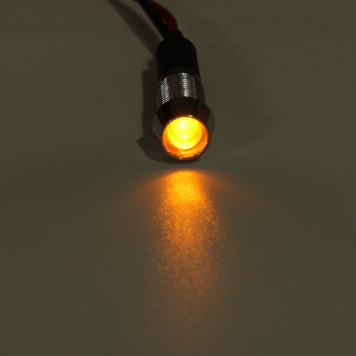 12v 8mm Led Indicator Metal Warning Light Lamp Pilot Panel Dash Car Leds On For Cars And Trucks 5f701d18 Dac4 4ec3 8932 C9e8413cbc89