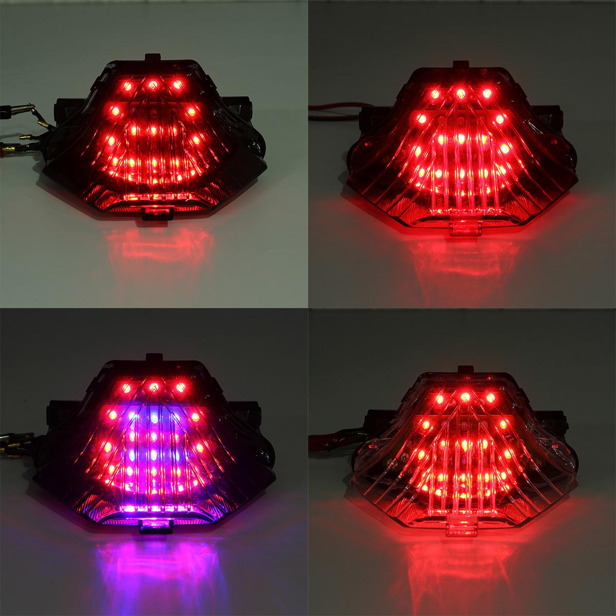 Tail Light Led Integrated Turn Signals Blinker For Yamaha