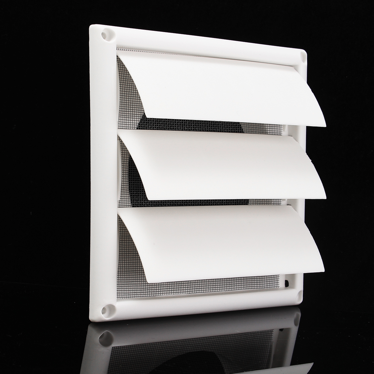 Air Vent Grille Ventilation Cover Plastic White Wall