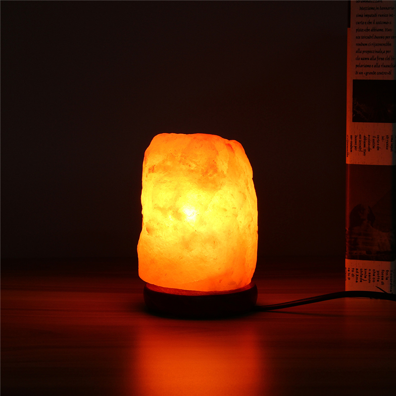 What Size Salt Lamp Do I Need : 14x10CM Natural Himalayan Ionic Air Purifier Rock Crystal Salt Lamp Table Night Light Alex NLD