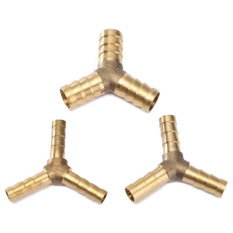 Mm brass connector gardening hose y plumbing
