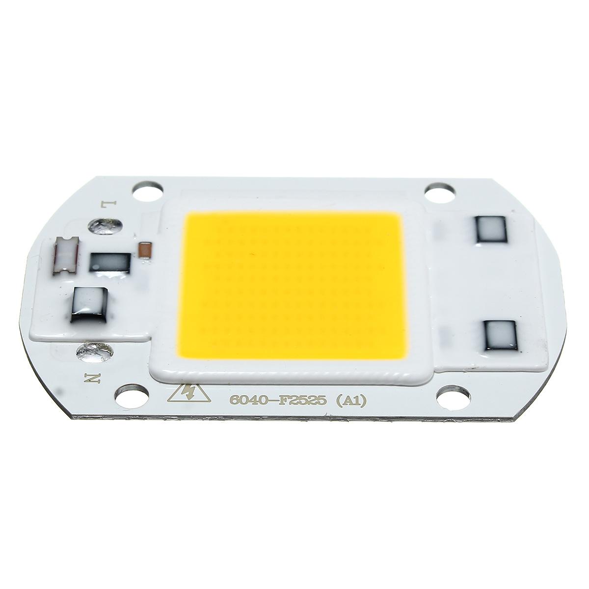 40 X 60MM 30W 2600LM Warm/White DIY COB LED Chip Bulb Bead For Flood Light AC110/220V