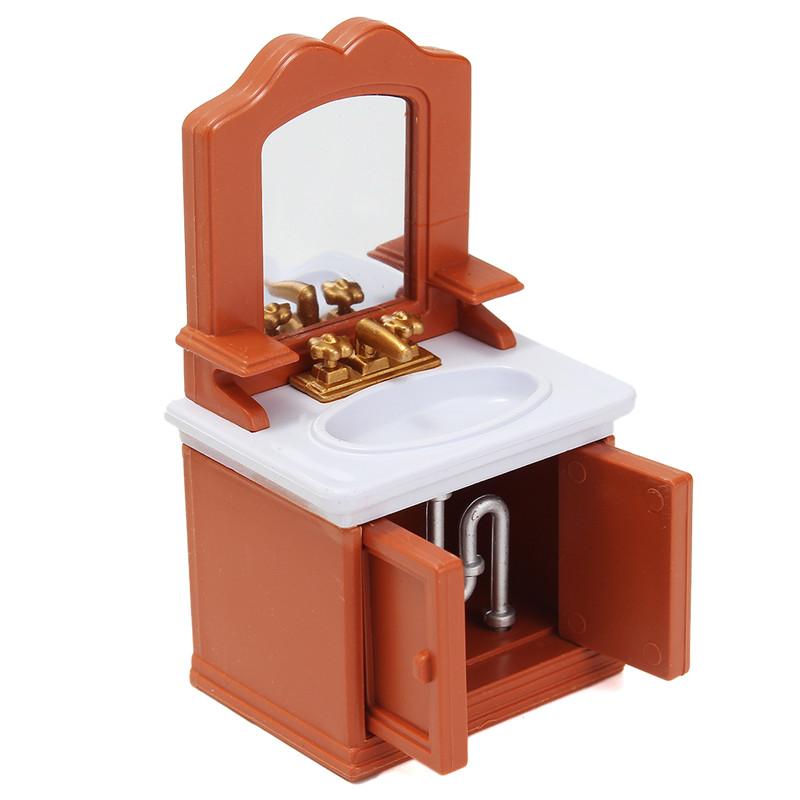 1 12 Simulation Bathroom Playhouse Props Dollhouse
