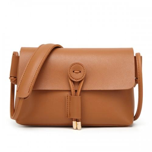 24985348da5d3 Women PU Leather Hasp Shoulder Bags Vintage Flap Crossbody Bags Messenger  Bags