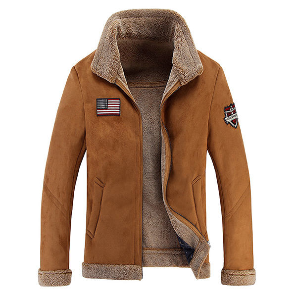 Fit Collar Fashion Jacket Mark Slim Thick Mens Winter Coat Stand PkZOXiuT