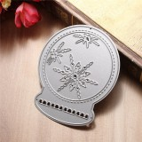 Crystal Ball Metal Cutting Dies Stencil Scrapbook Card Album Paper Craft Decoration