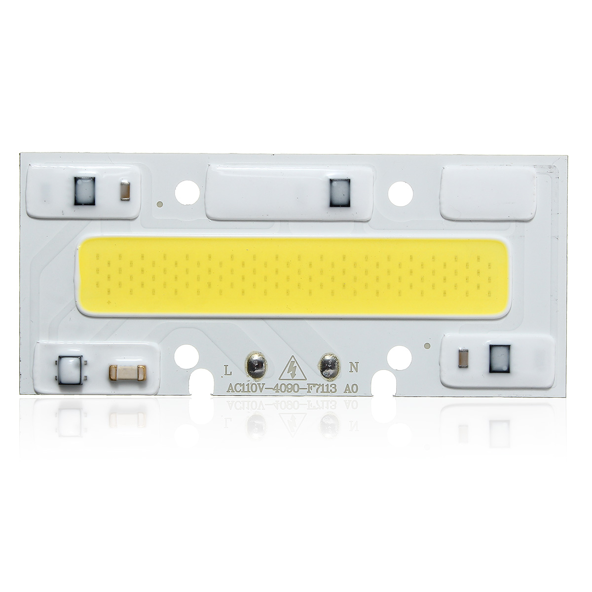 40 X 90MM 30W 2600LM Warm/White DIY COB LED Chip Bulb Bead For Flood Light AC110/220V