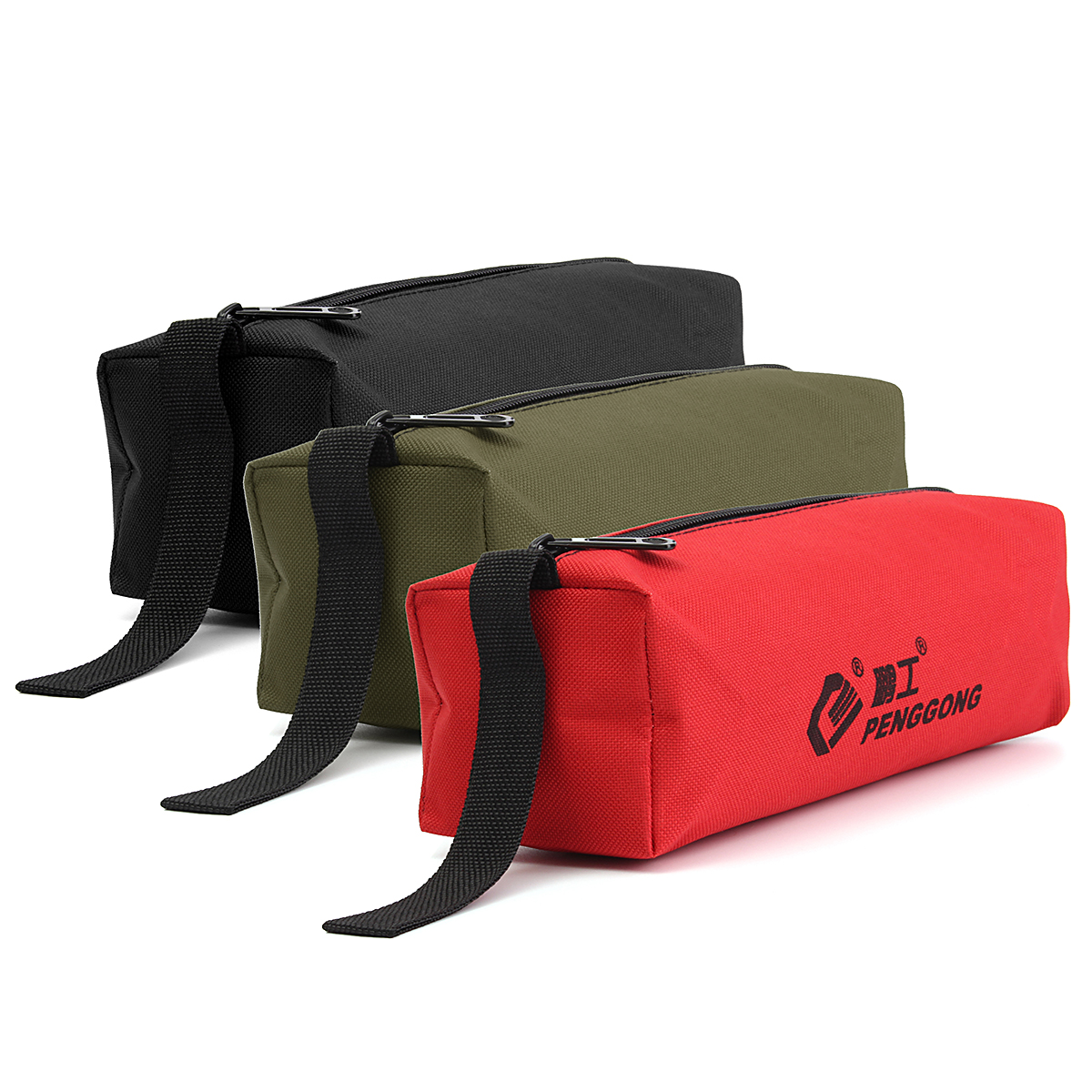 Storage Tools Bag Case Waterproof Multi-function for Small Metal Parts w// Handle