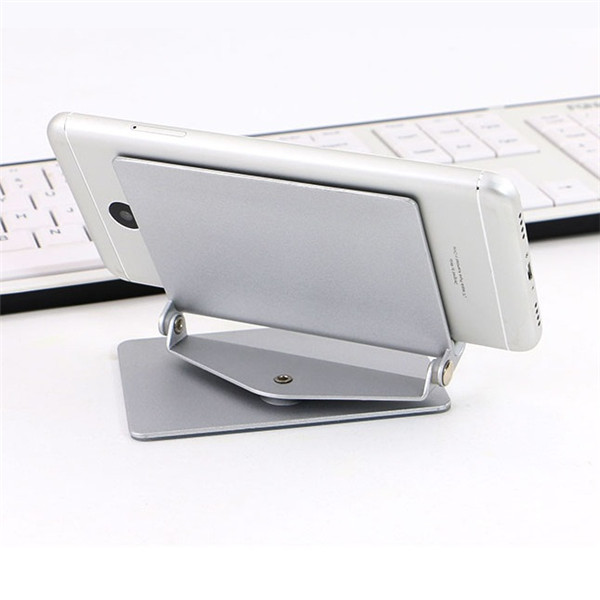 Kudon Metal Phone Stand 360 Degree Rotation Lazy Holder Phone Mount for Smartphone Tablet