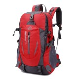 40L Big Capacity Travel Backpack Waterproof Nylon Outdoor Backpack For Women Men