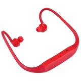 506 Life Waterproof Sweatproof Stereo Wireless Sports Earbud Earphone In-ear Headphone Headset with Micro SD Card Slot for Smart Phones & iPad & Laptop & Notebook & MP3 or Other Audio Devices, Maximum SD Card Storage: 8GB (Red)