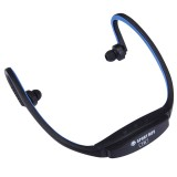 507 Life Waterproof Sweatproof Stereo Wireless Sports Bluetooth Earbud Earphone In-ear Headphone Headset with Micro SD Card Slot for Smart Phones & iPad & Laptop & Notebook & MP3 or Other Bluetooth Audio Devices, Maximum SD Card Storage: 32GB (Dark Blue)