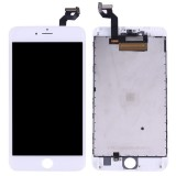Replacement 3 in 1 for iPhone 6s Plus (LCD + Frame + Touch Pad) Digitizer Assembly (White)