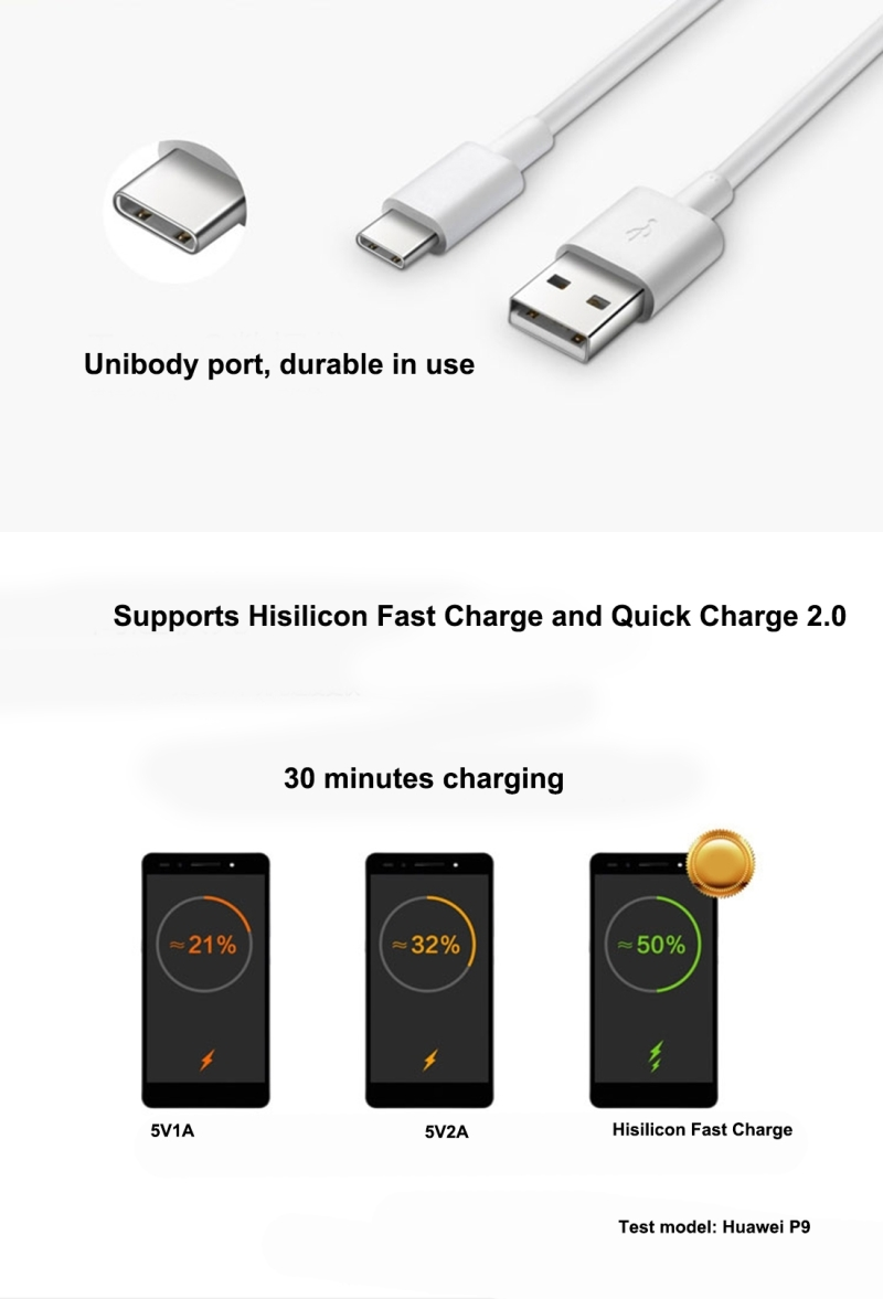 huawei fast charge 9v2a    5v2a single usb port charger for