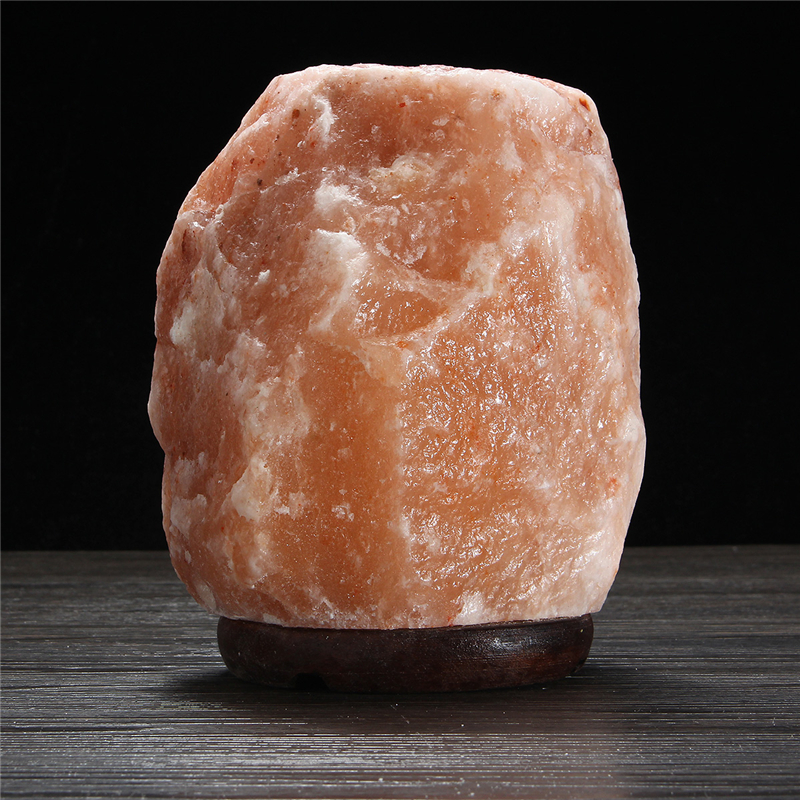 20x16CM Natural Himalayan Ionic Air Purifier Rock Crystal Salt Lamp Table Night Light Alex NLD