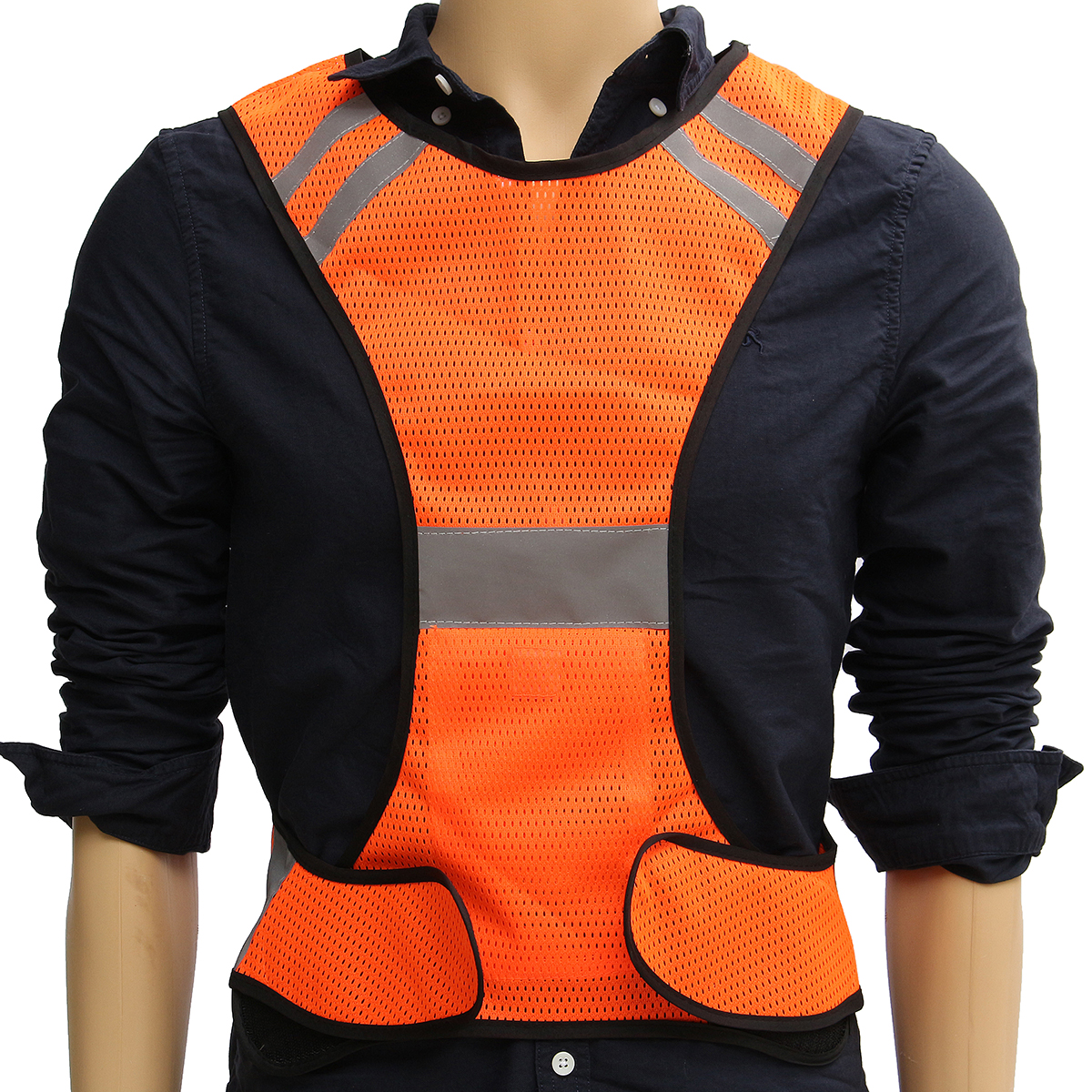 Night Work High Visibility Reflective Vest Security Safety