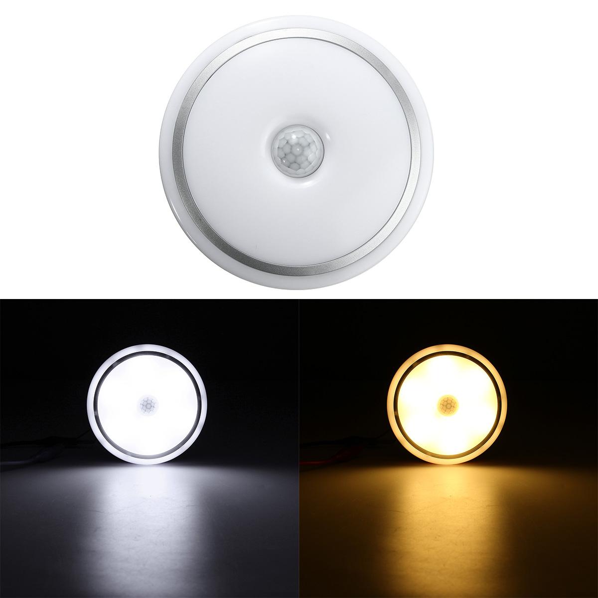 12w Pir Motion Sensor Infrared Led Ceiling Lamp Down Light