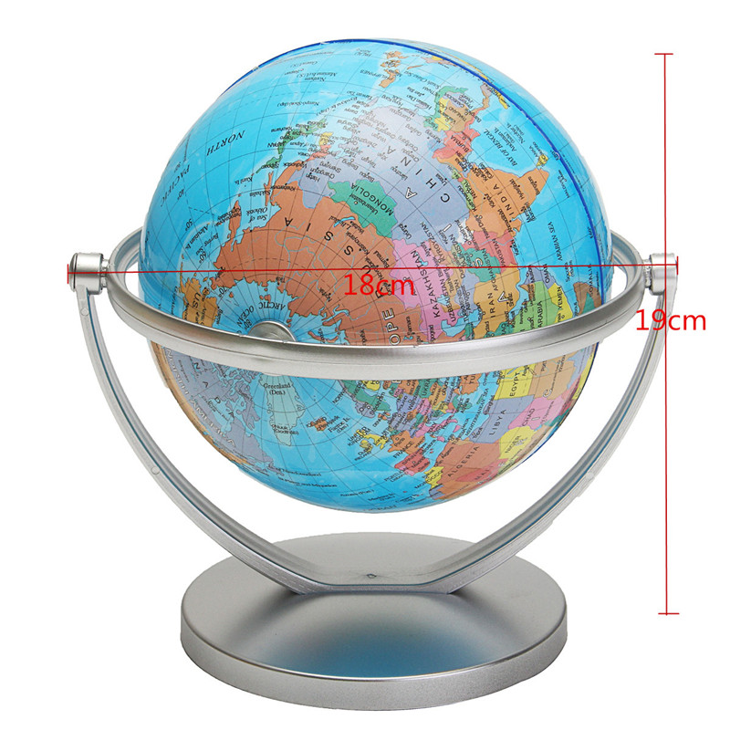 World globe earth ocean atlas map with rotating stand geography world globe earth ocean atlas map with rotating stand geography educational toy gumiabroncs Images
