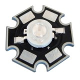 3W UV Ultraviolet LED Bead Light DIY Lamp Chip With 20mm Star Base