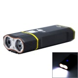 Y1-2400LM 5-mode USB Rechargeable Bicycle LED Headlight with 360 degree Rotatable Holder