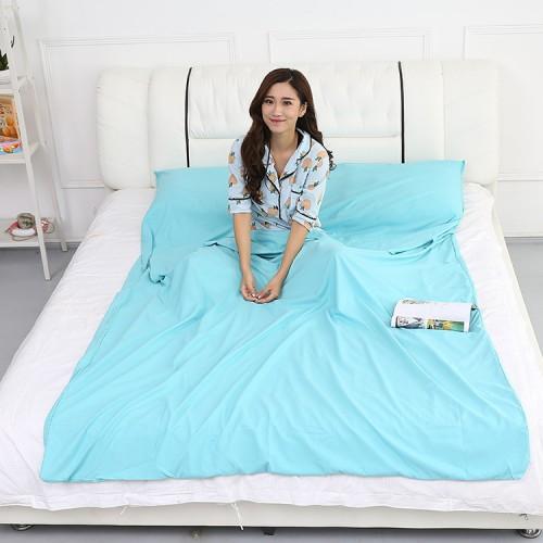 Honana Outdoor Sleeping Bag Liner Pongee Portable Camping Travel Sleeping Bag Bed Mattress Sheet