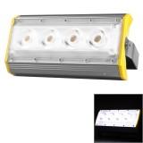 LS50A 50W 4 LEDs 5000 LM 3000-6000K IP65 Waterproof New Design LED Linear Project-light Lamp Flood Light Lamp, AC 100-240V (White Light)