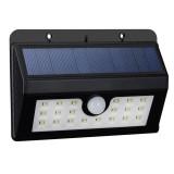 L57 20 LEDs White Light Solar Motion Human Body Sensor Wall Light with Solar Panel