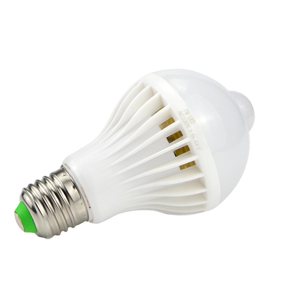 E27 5w 7w 9w Pir Infrared Motion Sensor Led Light Lamp Bulb Home Lighting Ac220v Alex Nld