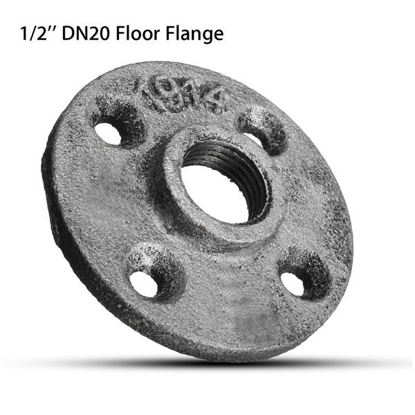 1 2 inch dn20 cast iron steel tube pipe floor flange pipe