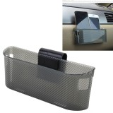 3R Car Auto Silicone Carrying Organizer Storage Vent Hanger Box Sticker Bag for Phone Coin Key and Other Small Items (Big Size)