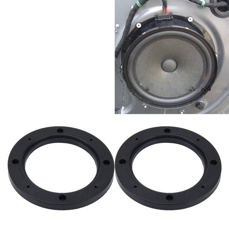 2 Pcs 4 Inch Car Auto Abs Loudspeaker Base Protection