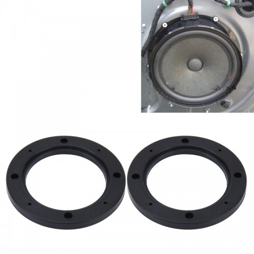 2 Pcs 5 Inch Car Auto Abs Loudspeaker Base Protection