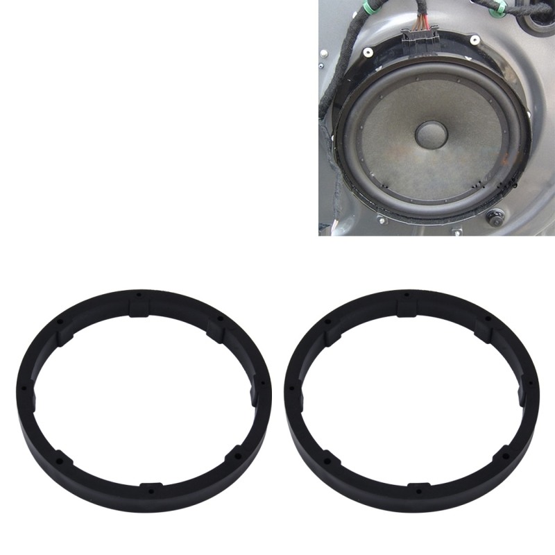 2 Pcs 6 5 Inch Car Auto Abs Loudspeaker Base Protection