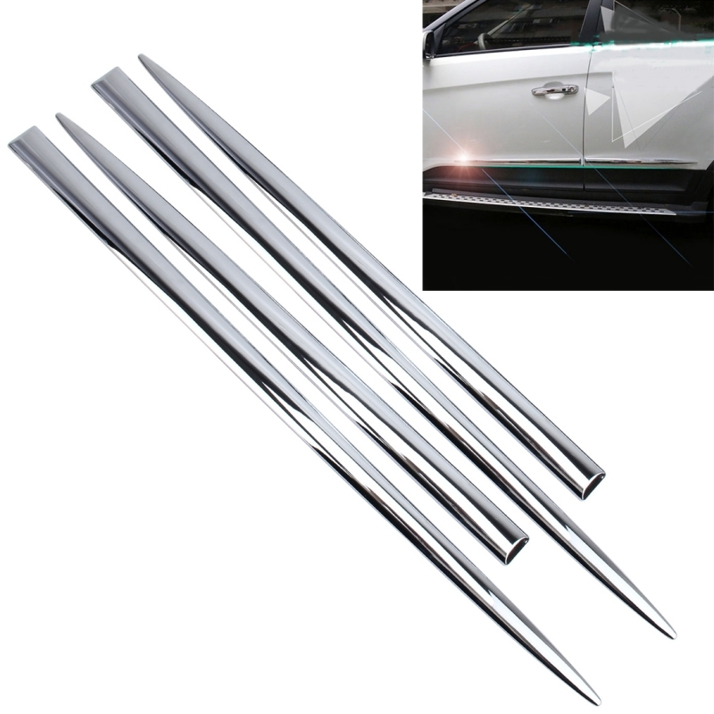 Aluminum Edge Protection : Pcs car auto door side edge metal anti scratch body
