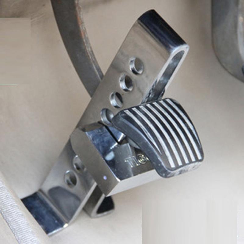 Механическая блокировка педалей автомобиля своими руками 21