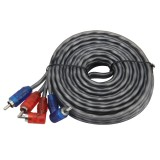 4.5m Car Auto PVC Wrapped Audio Stereo Cable OFC 2RCA to 2RCA Jack Audio Cable Male to Male RCA Aux Cable
