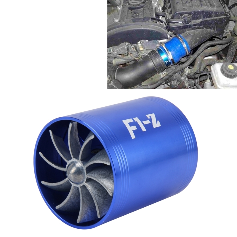 Universal Electric Turbo Review: Car Stainless Universal Supercharger Dual Double Turbine