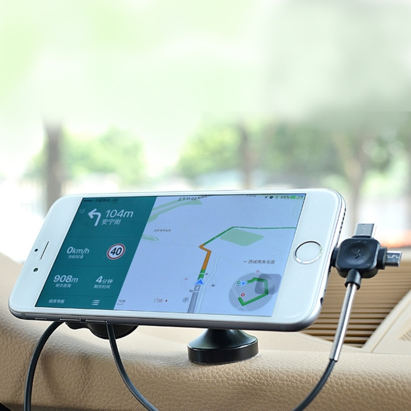 360 Degree Rotatable Car Auto Nano Universal Micro-Suction Dashboard Cellphone Charging Support Holder for 3.5 - 5.5 inch Mobile Phones