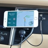 360 Degree Rotatable Car Auto Nano Universal Micro-Suction Air Vent Cellphone Charging Support Holder for 3.5 – 5.5 inch Mobile Phones