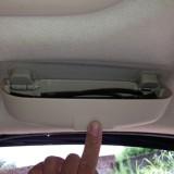 Car Auto Sunvisor Glass Protective Storage Holder Box